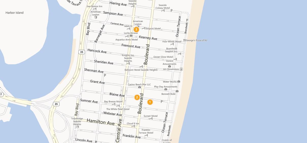 Price Guide Seaside Heights